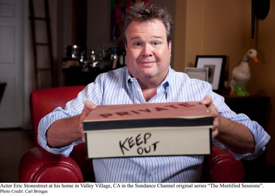 "In ""The Mortified Sessions,'' Eric Stonestreet recalls his childhood desire to be a clown. The series allows famous people to recall their early years."