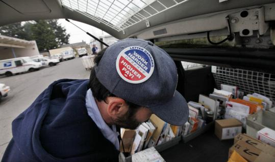 The Postal Service announced cuts yesterday aimed at helping the agency avert bankruptcy next year. The changes would virtually eliminate the chance for first-class mail to arrive the next day.