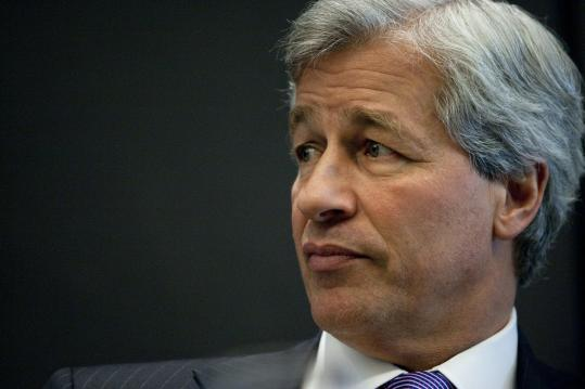 Jamie Dimon said he doesn't get anger toward banks.