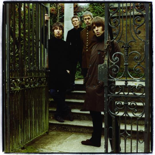 Beady Eye is (from left) Gem Archer, Chris Sharrock, Andy Bell, and Liam Gallagher, all of whom played in Oasis before its 2009 breakup.