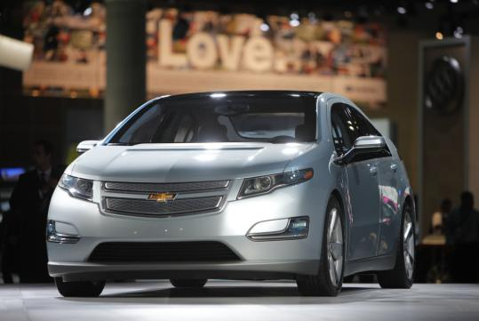 The Chevrolet Volt plug-in hybrid is being investigated after three batteries caught fire following government crash tests.
