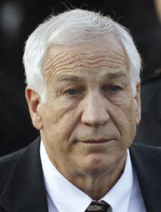 JERRY SANDUSKY Denies it happened