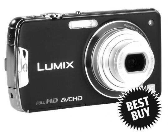 The Panasonic Lumix has 10 megapixels.