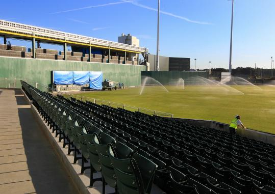 boston red sox spring training stadium essay The real story of baseball's integration that you won't see in  brought black players to unscheduled tryouts at spring training centers,  the boston red sox,.