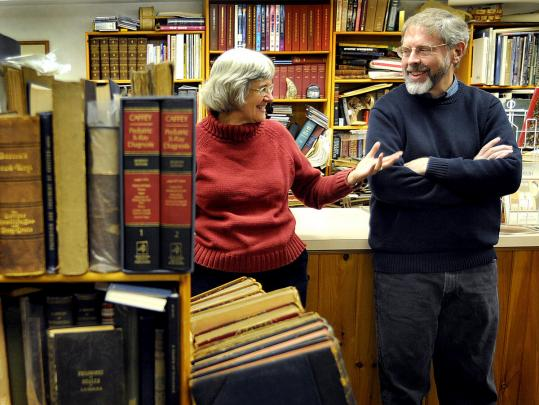 Nancy and David Haines, as the owners of Vintage Books in Hopkinton, are among the world's largest dealers of works by and about Quakers.