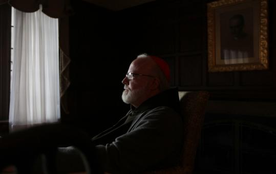 "Of his efforts to help victims, Cardinal Sean O'Malley said: ""Hopefully there will be some healing that comes out of it.''"