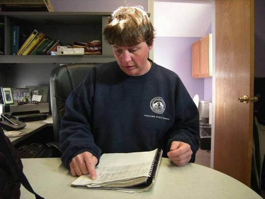 As Concord's cemetery supervisor, Tish Hopkins keeps track of a vast array of burial sites, including the final resting places of some of America's most famous 19th-century authors and philosophers, spread over three properties.