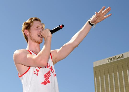 He still has his slacker charm, but rapper Asher Roth is working to expand his audience with a new album due this year.