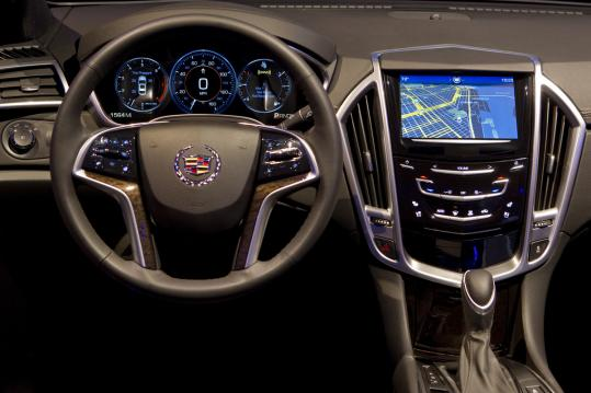 Cadillac's CUE system already offers a suite of navigation and communication tools.