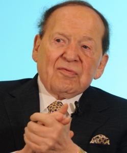Sheldon Adelson, son of a Boston cabdriver.