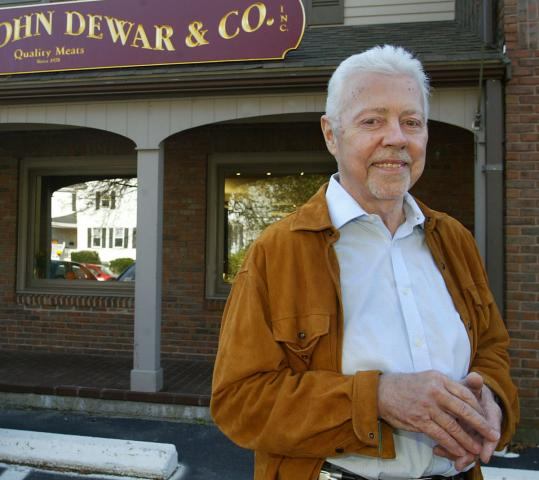 """We felt we were fighting a losing battle'' says founder John Dewar of his original store on Beacon Street."