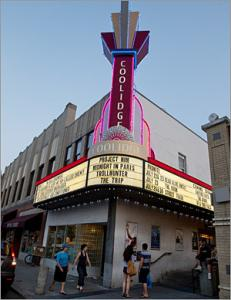 The Coolidge Corner Theatre has paired talks by scientific experts with films since 2005.