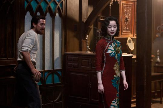 "Christian Bale and Ni Ni costar in ""The Flowers of War,'' directed by Zhang Yimou."