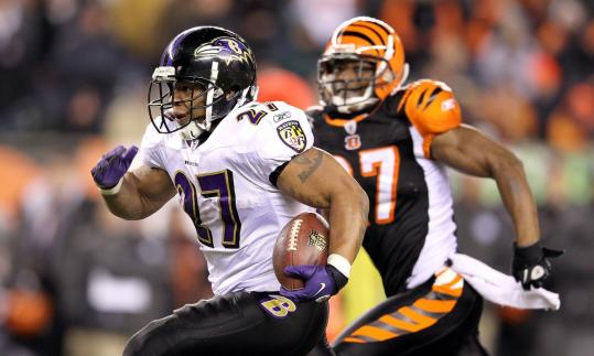 Ray Rice has exploded for a Ravens-record 15 touchdowns and more than 2,000 yards of offense this season.