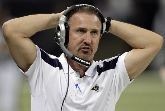 New Saints defensive coordinator Steve Spagnuolo was 10-38 as Rams coach.