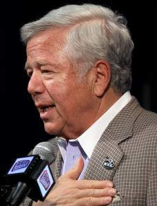 ROBERT KRAFT 'Pleased and excited'