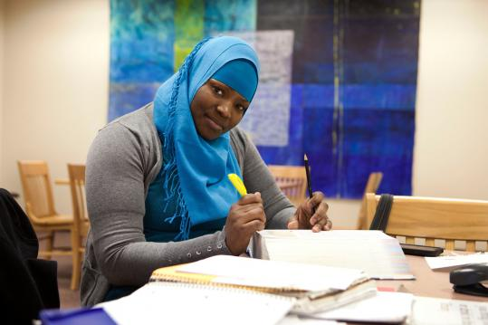 """""""The labs are very much underequipped,'' says Margarette Casimir, a nursing student at Roxbury Community College."""