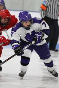 Holy Cross freshman Francesca Panarelli of Shrewsbury and the Middlesex School has scored 13 points as a defenseman.
