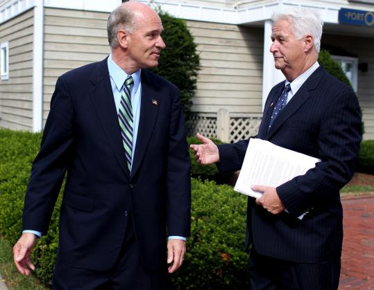 Those familiar with US Representative William R. Keating (left) and William D. Delahunt (right), his predecessor, say the bad blood between them is as acute as it is long-running.