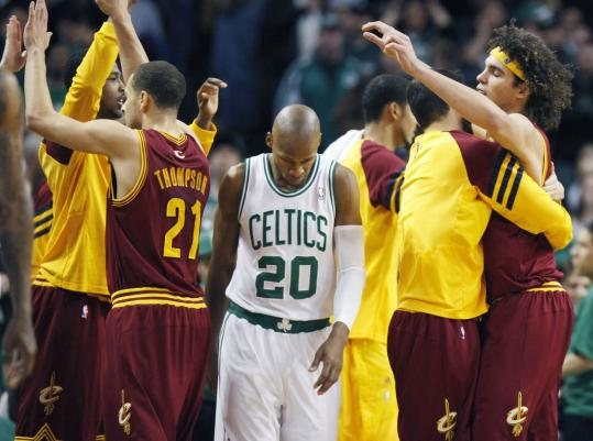 As the Cavaliers celebrated their 1-point victory at the Garden, Ray Allen and his mates knew they let one get away.