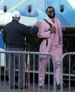 BRANDON SPIKES Dressed for success