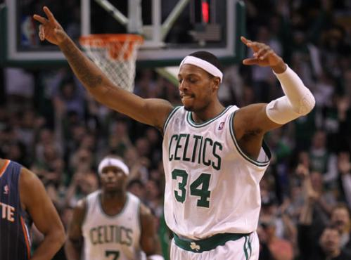 Paul Pierce hit a 3-point shot with 10:23 left in the third quarter against the Charlotte Bobcats at the Garden Tuesday night that pushed him one point past Celtics legend Larry Bird on Boston's all-time scoring list with 21,792 points. Only John Havlicek, who scored 26,395 points in 16 seasons, has more points than PIerce over the course of his career in Boston. Here's a review of Pierce's Celtics career, starting when he was drafted out of Kansas with the 10th pick in the 1998 draft.