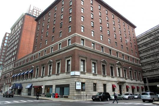A development group is said to be looking to construct a skyscraper on the site of the former John Hancock Hotel & Conference Center; no formal plans have been filed with city officials.