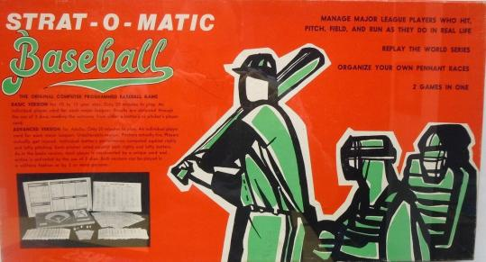 The dice have been rolling in Strat-O-Matic baseball games for more than 50 years.