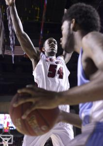 Sean Carter was a giant presence for UMass, as Orion Outerbridge and Rhode Island discovered.