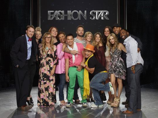 The competition's designers show their clothes to buyers from H&M, Macy's, and Saks, who bid on the chance to sell them.