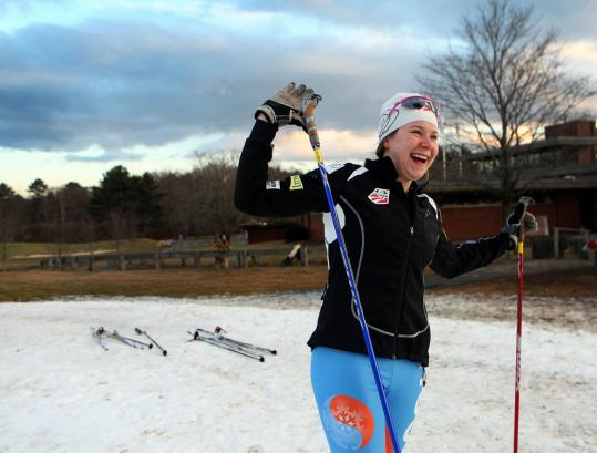 Corey Stock, a Lincoln-Sudbury Regional High School senior, won three individual titles at the junior nationals in Utah.