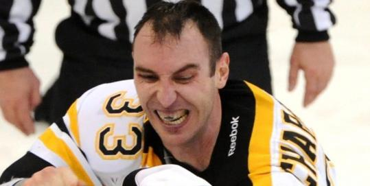 Zdeno Chara will put on his game face for the 1,000th time.