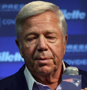 Robert Kraft spoke on a variety of subjects Thursday.