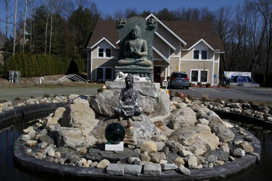 The Boston Buddha Vararam Wat in Bedford.