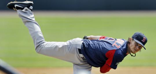 Red Sox pitcher Clay Buchholz will be expected to deliver more innings this season as the team firms up its starting rotation.