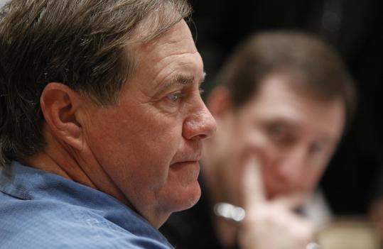 Bill Belichick wasn&#8217;t very expansive on non-Patriots questions from the media.