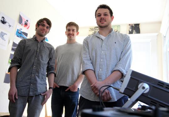 U-Turn Audio is (from left) Bob Hertig, Peter Maltzan and Ben Carter.