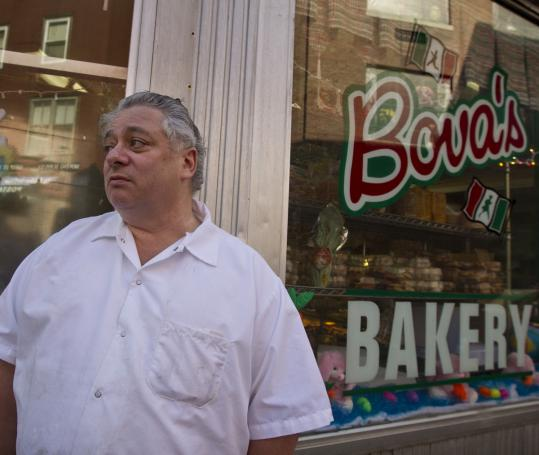 Anthony Bova, co-owner of Bova&#8217;s Bakery, says the noise in the North End after midnight has gotten worse in the past decade.