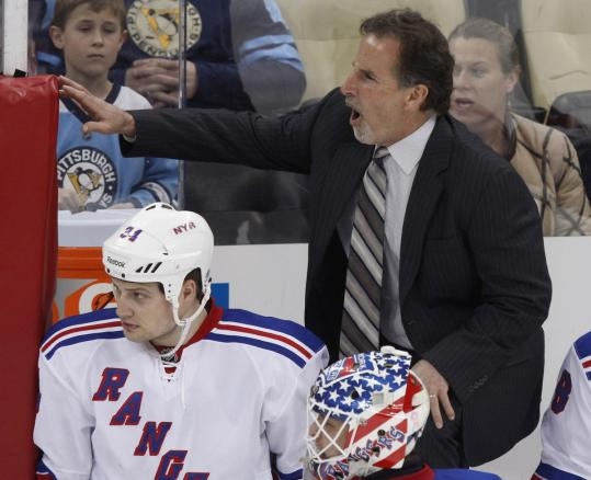 Rangers coach John Tortorella had to cough up $20,000 for his diatribe against Brooks Orpik and the Penguins Thursday.