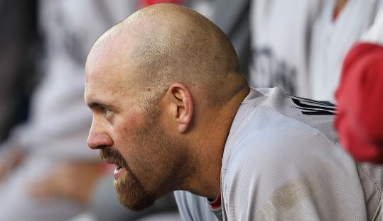 Kevin Youkilis, still looking for his first hit, and the Sox haven't seen anything to like this season after dropping their first two games to the Tigers.