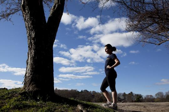 As of early April, Allison Buzzell's Boston Marathon charity fund-raising effort was only at half of what she needed.