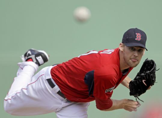 The Red Sox saw enough improvement and potential in Daniel Bard this spring to make him the No. 5 starter.