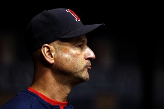 Former manager Terry Francona said someone in the organization tried to hurt him.