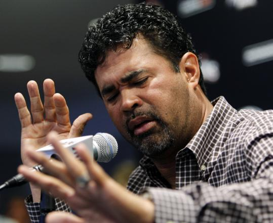 Marlins manager Ozzie Guillen, who received a five-game suspension, said he made the biggest mistake of his life.