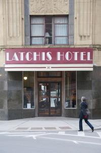 The Latchis Hotel & Theatre, built in the late 1930s, features a pub and four movie theaters.
