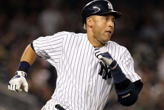 The Yankees have gotten off to a slow start this season, but their captain, Derek Jeter, doesn't seem to have lost a step.