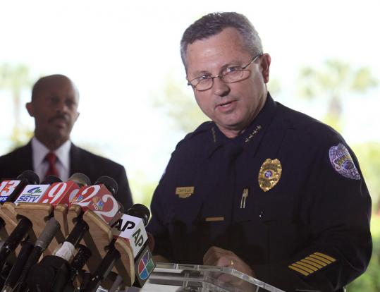 Sanford Police Chief Bill Lee stepped down after not arresting George Zimmerman.