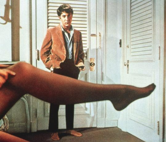 "Dustin Hoffman became a star with his role in 1967's ""The Graduate,"" which gets a 45th-anniversary showing at the Coolidge."