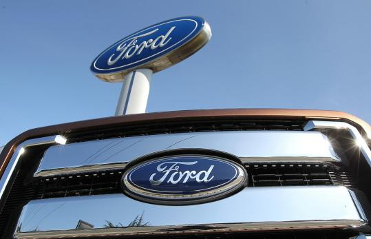 Ford 1st quarter earnings fall on european slump tax rate for Ford motor company pension contact number