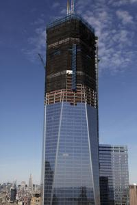 The addition of its 100th floor will make 1 World Trade Center 21 feet higher than the Empire State Building.